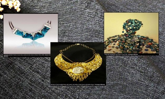 Fancy wearing an Orlina? 'ArtWearAble' showcases artworks you can actually put on