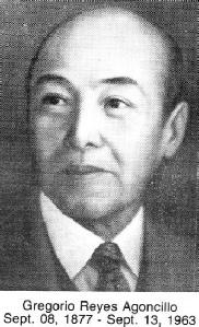 Gregorio Reyes Agoncillo